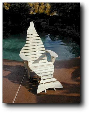 Dolphin Chair Woodworking Plans