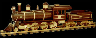 Locomotive Wood Plans