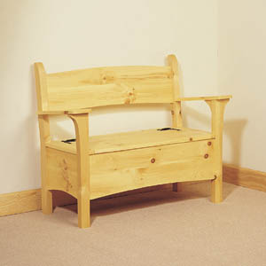 Deacon Storage Bench Plans