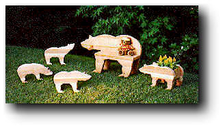 Bears and More Bears Woodworking Plans