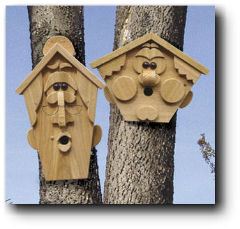 Birdhouse Creature III Woodworking Plans