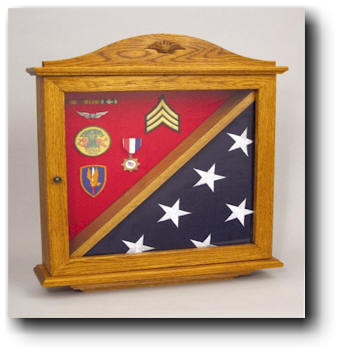 Flag Display Case Woodworking Plan