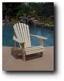 adirondack fanback chair wood plans