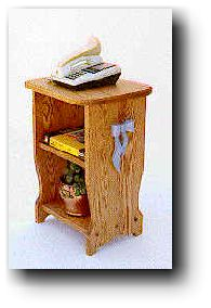 Phone Table Woodworking Plans
