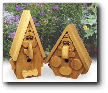 Birdhouse Creatures II  Woodworking Plan