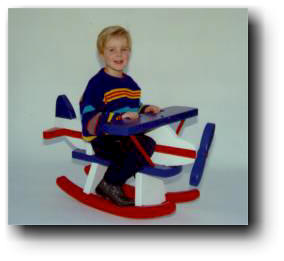 Rocking Airplanes Woodworking Plans